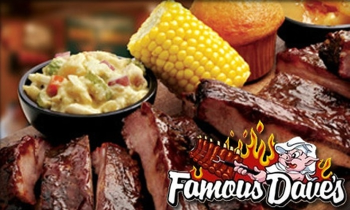 Famous Dave's - Boston Road: $20 for $40 Worth of Barbecue at Famous Dave's