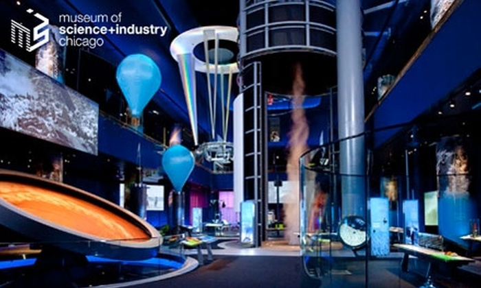 Museum of Science and Industry - Chicago: Membership to Museum of Science and Industry. Choose One of Two Options.