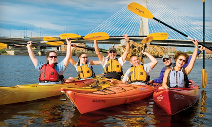 Charles River Canoe & Kayak - Multiple Locations: $119 for a New Member Canoe, Kayak, and Standup Paddleboard Season Pass from Charles River Canoe & Kayak ($275 Value)