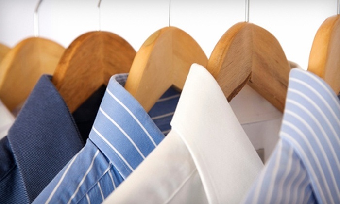 Imperial Cleaners - Multiple Locations: Dry-Cleaning or Household-Item-Cleaning Services at Imperial Cleaners (Half Off)