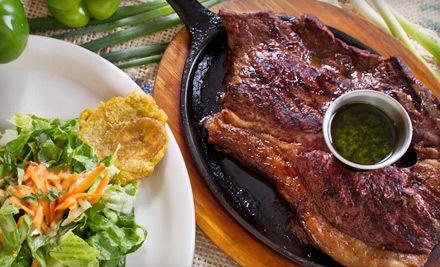 Latin American Dinner for 2 - Presto Latin Cantina in Marietta