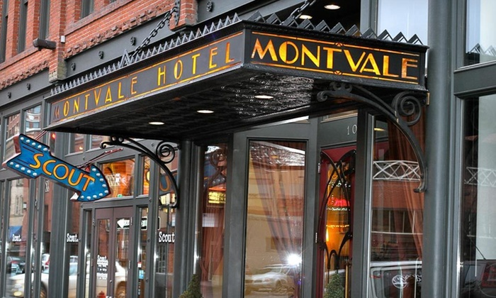 Montvale Hotel - Riverside: One- or Two-Night Stay for Two at the Montvale Hotel in Washington