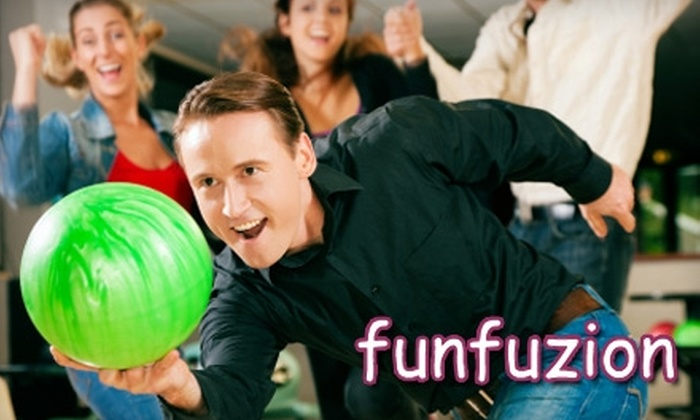 Funfuzion at New Roc City - New Rochelle: $20 for Your Choice of Three Activities and a 90-Minute Unlimited Game Card at Funfuzion at New Roc City