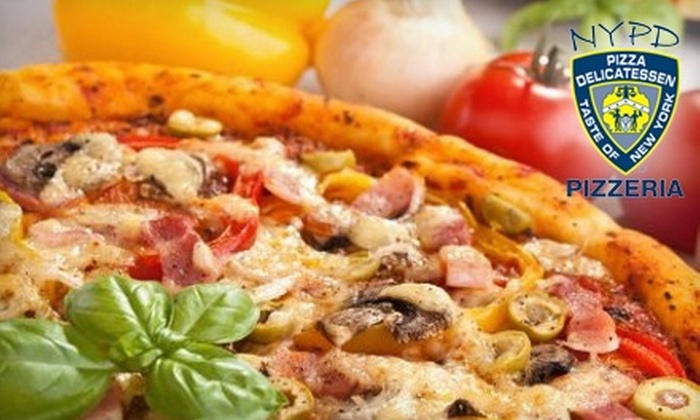 NYPD Pizza - Multiple Locations: $10 for $20 Worth of Pizza and Drinks at NYPD Pizza