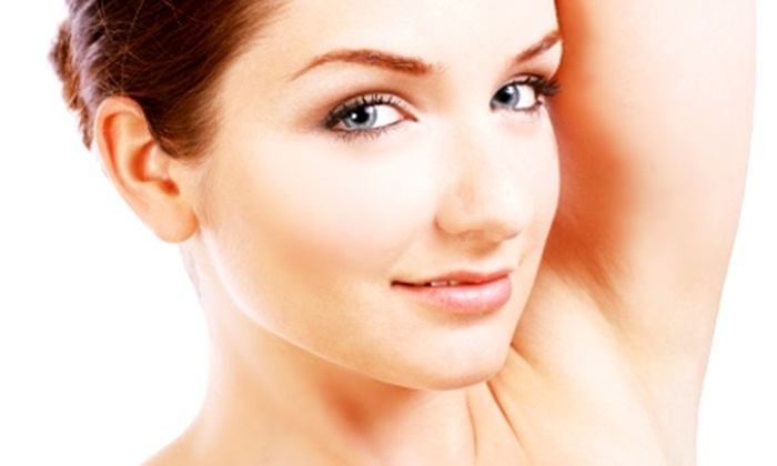 NuDaya MedSpa & Weight Loss Centers - Multiple Locations: $99 for Three Laser Hair-Removal Sessions at NuDaya MedSpa & Weight Loss Centers (Up to $570 Value)