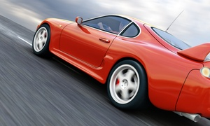 Beverly Tint: Auto Window Tinting for Two Front Windows or Up to Five Windows at Beverly Tint (Up to 60% Off)