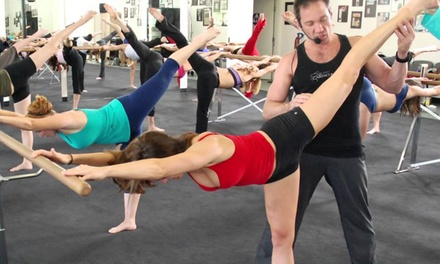 $49 for 10 Ballet-Inspired Fitness Classes at Cardio Barre ($160 Value)