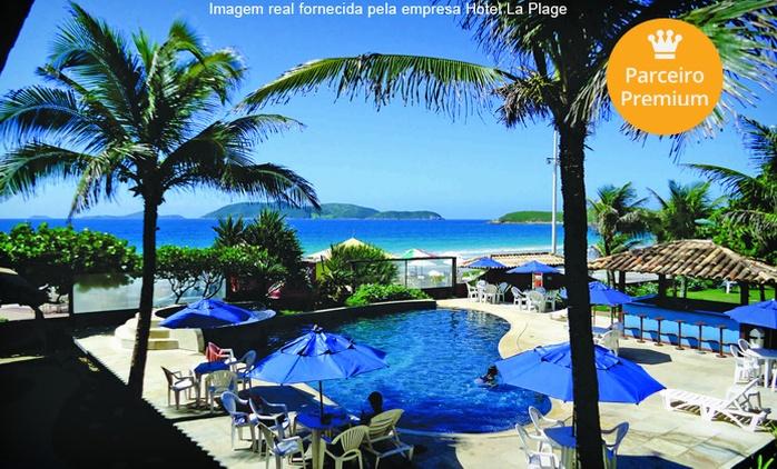 Cabo Frio: 2, 3, 5 ou 7 noites para 3 pessoas no Hotel La Plage