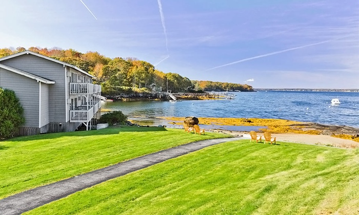 Sunset Beach Smugglers Cove In East Boothbay Me Groupon Getaways