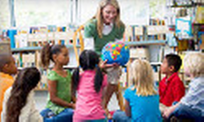 Language Advantage - Severna Park: Five-Week Children's Introductory Spanish Class or a One-Month KinderNiños Class at Language Advantage (Up to 66% Off)