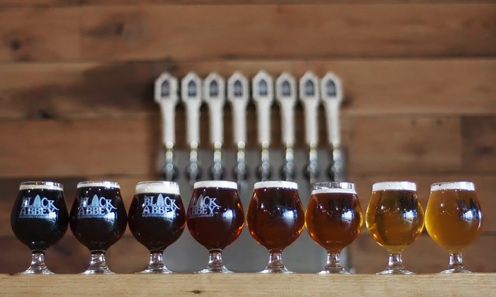 The Black Abbey Brewing Company - Nashville: $45 for The Black Abbey Brewing Company 1st Anniversary Festival for Two on September 27 ($70 Value)
