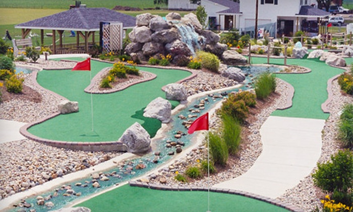 Perry Falls Miniature Golf - Perrysburg: $6 for Two 18-Hole Rounds at Perry Falls Miniature Golf in Perrysburg (Up to $12 Value)