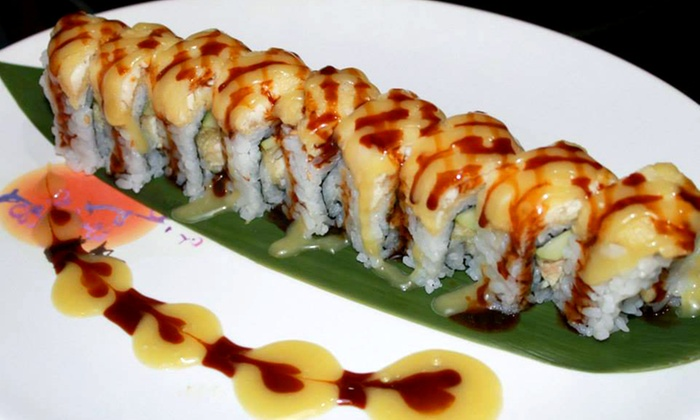 Roll Me - Norcross - Roll Me Sushi: Sushi Dining Course for Two or Four at Roll Me - Norcross (Up to 45% Off)