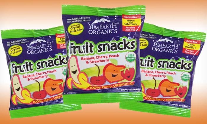 50 YumEarth Organics Fruit Snack Packs: 50 YumEarth Organics Fruit Snack Packs