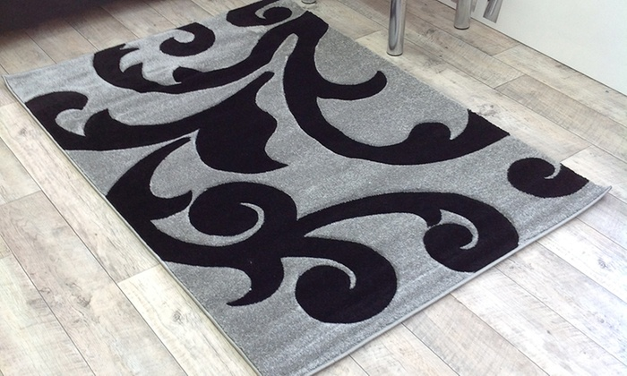 Hand Carved Rugs 5 Colours Groupon Goods
