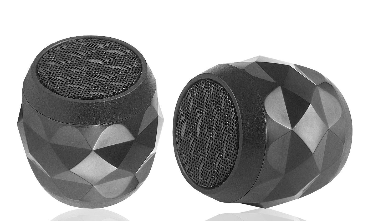 One or Two LED Bluetooth Speakers