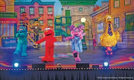 Sesame street live let 39 s dance in new york ny groupon - Sesame street madison square garden ...