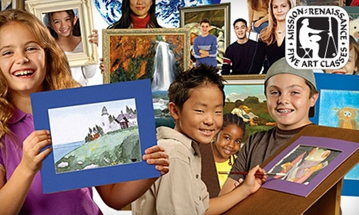 Mission: Renaissance - Ventura County: Up to 58% Off Fine Art Classes at Mission: Renaissance. Two Options Available.