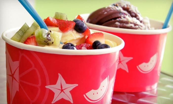 Berry Me Frozen Yogurt & Cafe - Lower East Side: Self-Serve Frozen Yogurt or Five-Cup Punch Card at Berry Me Frozen Yogurt & Cafe