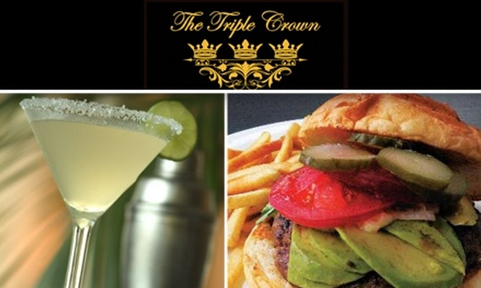 Triple Crown - Hayes Valley: $10 for $20 Worth of Royal Meals, Drinks, and Happy Hours at The Triple Crown