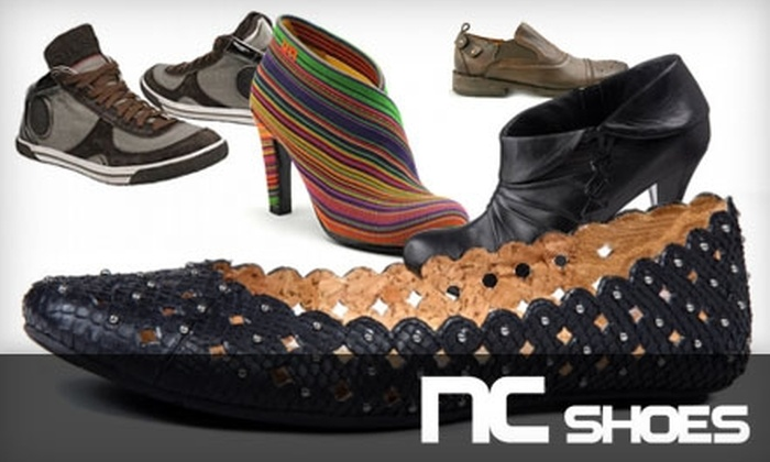 NC Shoes - Mont royal: $50 for $120 Worth of Designer Shoes at NC Shoes