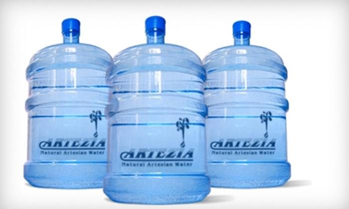 Quality Water Supply - Tallahassee: $15 for Four Jugs of Water, Cooler Rental, and Delivery from Quality Water Supply ($40 Value)