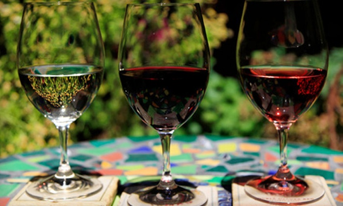 Tamas Estates - Livermore: One Bottle of Wine and Tasting for Two or Wine Tasting for Four at Tamas Estates (Half Off)