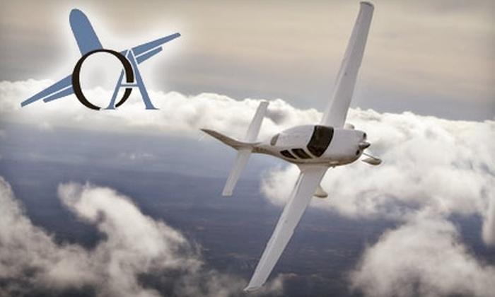 Open Air Flight Training - 1: $80 for 30-Minute Orientation and 30-Minute Flight at OpenAir Flight Training in Gaithersburg ($152.50 Value)