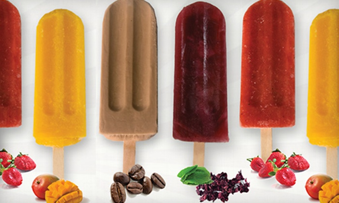 GoodPop - South River City: $10 for an Eight-Count Box of All-Natural Frozen Pops at GoodPop ($20 Value)