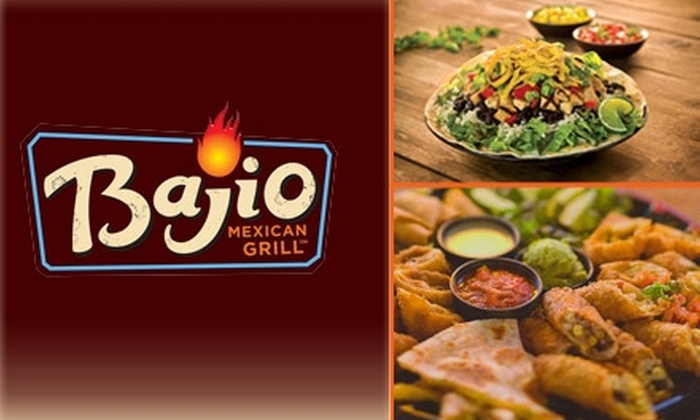 Bajio Mexican Grill - Portland: $5 for $12 Worth of Mexican Fare at Bajio Mexican Grill