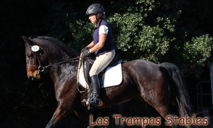 Las Trampas Stables - Central Contra Costa: $75 for Three English Horse-Riding Lessons at Las Trampas Stables in San Ramon ($150 Value)