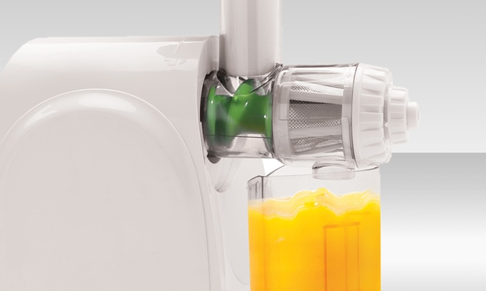 Big Boss Vitapress Slow Juicer Review : Big Boss Masticating Juicer Groupon Goods