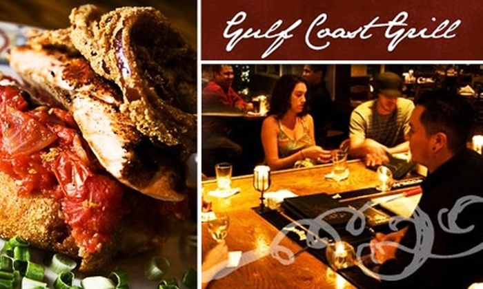 Gulf Coast Grill  - University Heights: $20 for $45 Worth of Cajun Fusion Food and Drink at Gulf Coast Grill