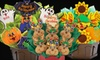Cookies by Design: $27 for a Halloween-, Thanksgiving-, or Christmas-Cookie Bouquet from Cookies by Design ($54.99 Value)