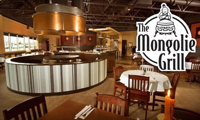 The Mongolie Grill - Multiple Locations: $15 for $30 Worth of Mongolian Barbecue Fare at The Mongolie Grill