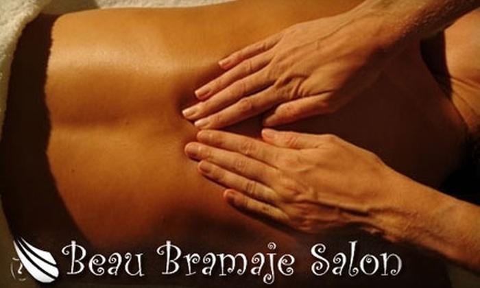 Beau Bramaje Salon - Kendallville: $25 for a 60-Minute Swedish Massage at Beau Bramaje Salon ($50 Value)