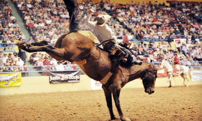ABC Pro Rodeo - Multiple Locations: $10 for Outing for Two to the ABC Pro Rodeo at the Lubbock City Bank Coliseum ($20 Value). Four Options Available.