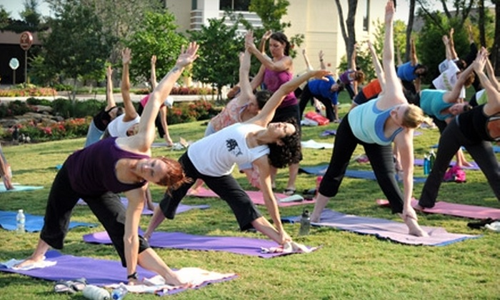 Allen Yoga Center - Watters Creek At Montgomery Farm: $30 for 30 Days of Unlimited Yoga Classes at Allen Yoga Center ($89 Value)