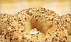 Great Bagel - Aylesford Place-Woodland Park: $4 for One Dozen Bagels at Great Bagel ($9 Value)