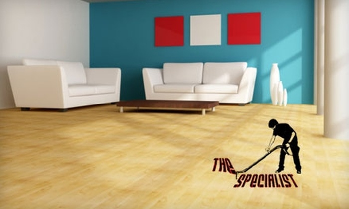 The Specialist - Fairfield County: Hardwood-Floor Cleaning from The Specialist. Choose from Three Options.