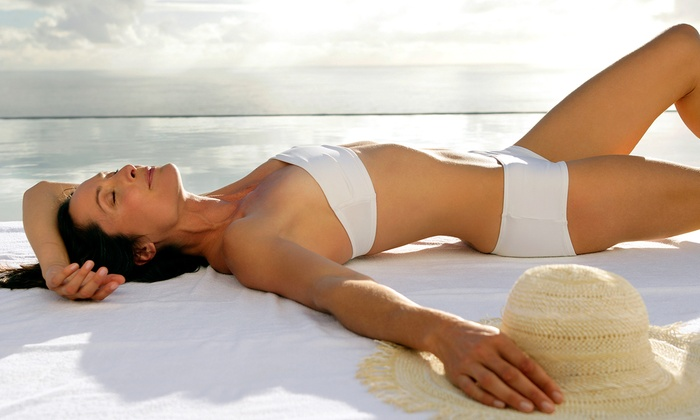 The Natural Beauty In You - Huntington: $24.99 for Two Organic Spray Tans at The Natural Beauty in You ($65.98 Value)