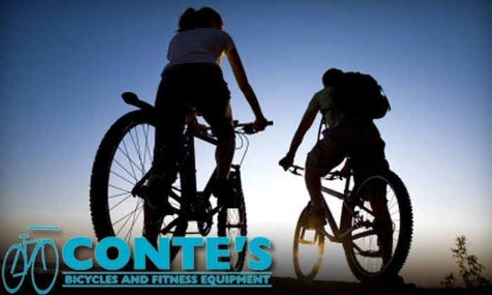 Conte's Bicycle and Fitness Equipment - Northeast Virginia Beach: $25 for a Bicycle Tune-Up ($95 Value) or $95 for an Ultimate Bicycle Overhaul ($285 Value) at Conte's Bicycle and Fitness Equipment