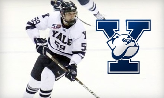 Yale Hockey - Downtown: $14 for Two Yale Hockey Tickets and a Parking Pass