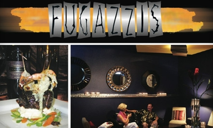 Fugazzis - Multiple Locations: $15 for $30 Worth of Dining and Drinks at Fugazzis