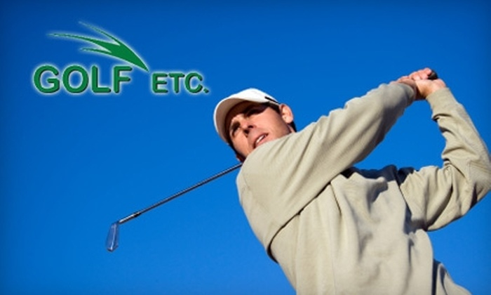 Golf Etc. - Multiple Locations: $20 for $40 Worth of Gear and More at Golf Etc. Choose from Three Locations.