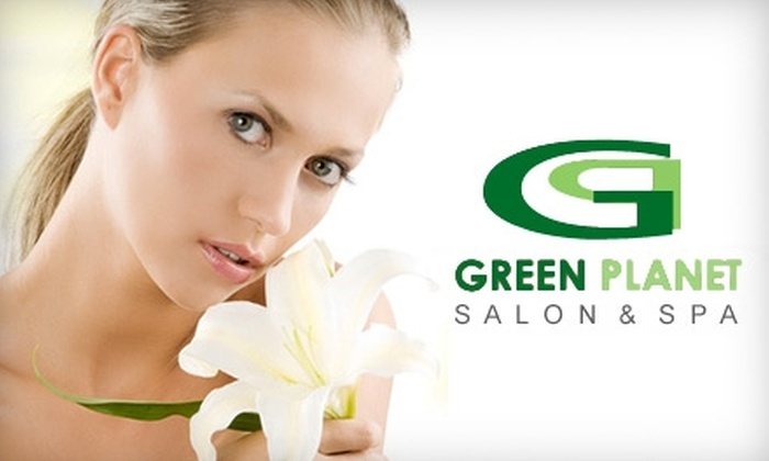 Green Planet Salon & Spa - Sheepshead Bay: $50 for $125 Worth of Mani-Pedis, Facials, Hair-Removal Services, and More at Green Planet Salon & Spa