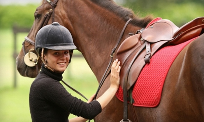 Bennett Farms - Burbank: $41 for a Horseback Riding Lesson from Bennett Farms at the Los Angeles Equestrian Center ($90 Value)