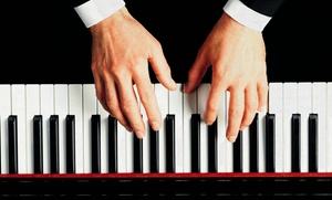 Cadenza Music: Four Private Beginner Piano Lessons or Introductory Music Theory Lessons at Cadenza Music (Half Off)