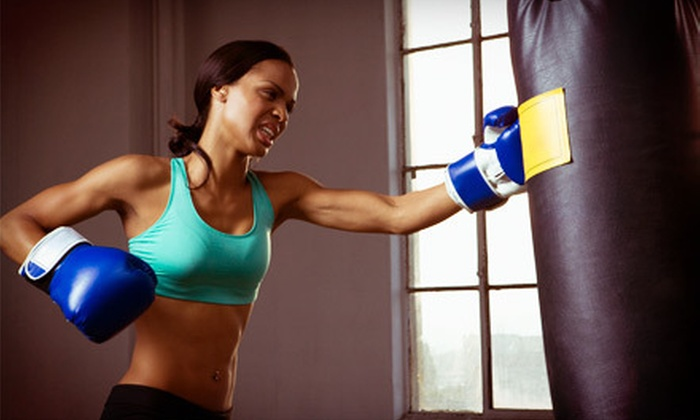 Women's Boot Camp Fitness - Multiple Locations: 10 or 20 Boot-Camp and Kickboxing Classes at Women's Boot Camp Fitness (Up to 71% Off)