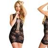 Angelina Fishnet Mini Dress